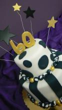 Wheatberry Bake Shop Star Graduation Cake