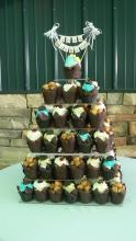 Shabby Chic Cupcake Tower