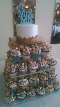 S'mores Cupcake Tower