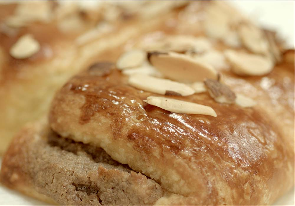 Almond Bear Claw Danish